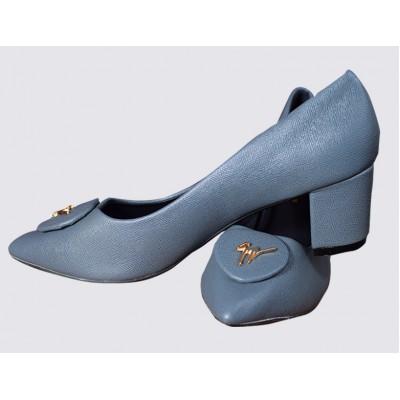 Block Heel Court Shoes