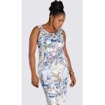 Cotton rich print dress